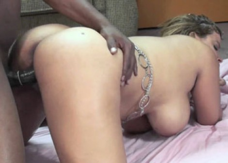 Latina slut Angel fucks Steven Black